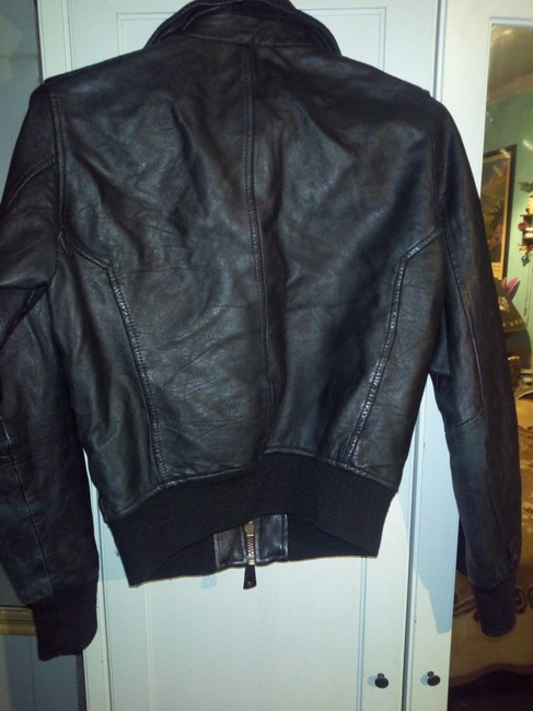 Bomb Boogie Geniune Classic Chic Leather Jacket Image 2