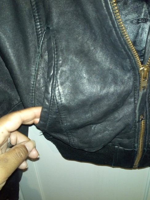 Bomb Boogie Geniune Classic Chic Leather Jacket Image 3