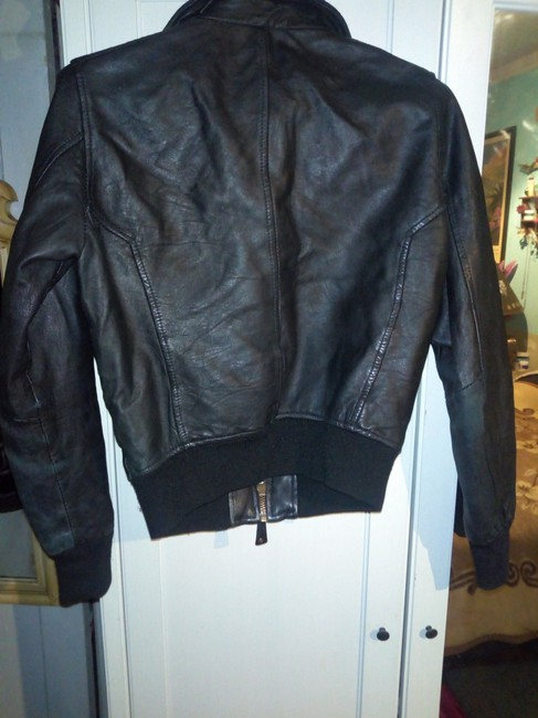 Bomb Boogie Geniune Classic Chic Leather Jacket Image 6