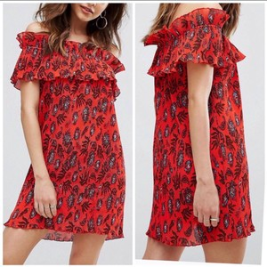 Missguided short dress Red on Tradesy