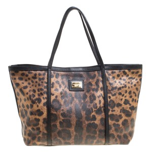 Dolce&Gabbana Canvas Tote in Brown