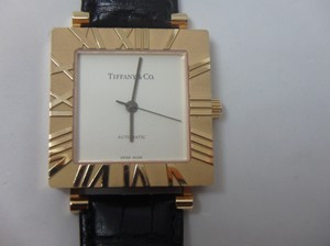 Tiffany & Co. Mens XL Square automatic Atlas Watch