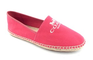Coach Wagon New York Rhoda Slippers Smoking Slippers Pink Flats
