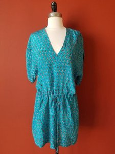Tolani short dress Blue on Tradesy