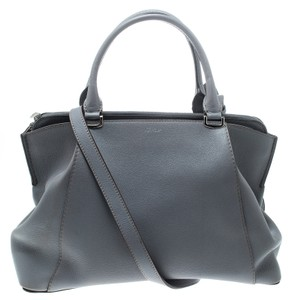Cartier Leather Tote In Purple