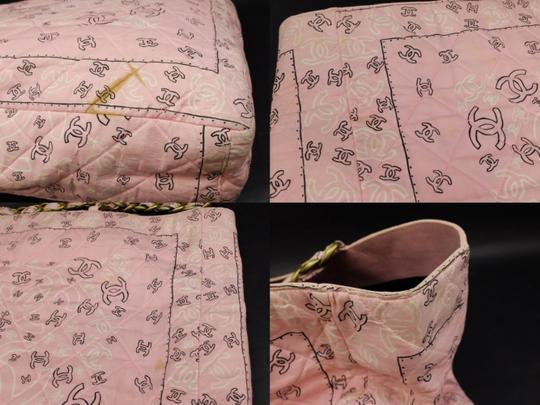 Chanel Gst Grand Shopper Shopping Paisley Tote in Pink Image 6