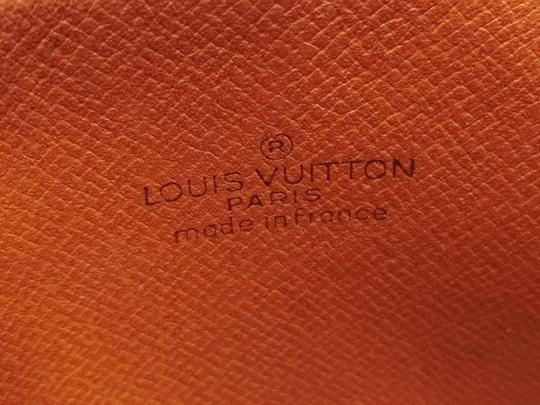 Louis Vuitton Marly Dragonne Pochette Compiegne Orsay Brown Clutch Image 1