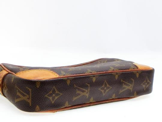 Louis Vuitton Marly Dragonne Pochette Compiegne Orsay Brown Clutch Image 7