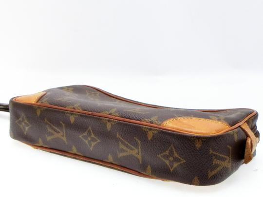 Louis Vuitton Marly Dragonne Pochette Compiegne Orsay Brown Clutch Image 8