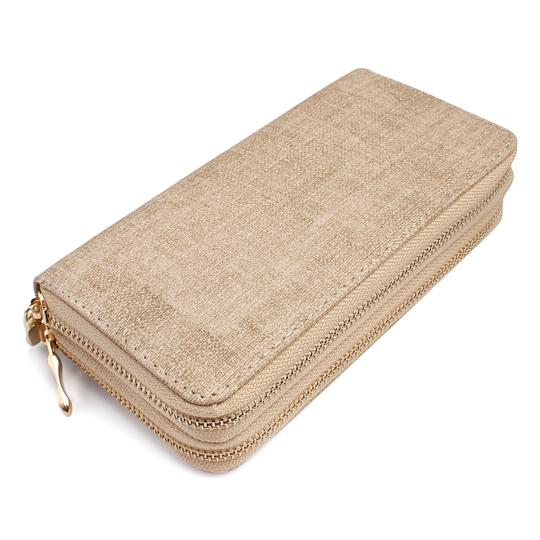 Preload https://img-static.tradesy.com/item/24371648/camel-two-tone-double-zipper-wallet-0-0-540-540.jpg