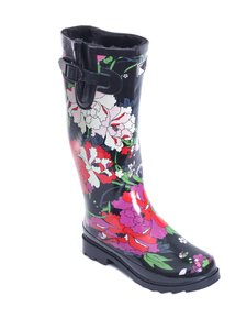 Forever Young Rainboots Rain Wellies Sluggers Flower Jacket Boots
