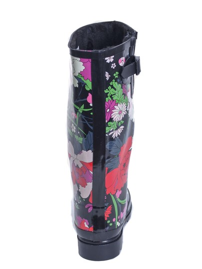 Forever Young Rainboots Rain Wellies Sluggers Flower Jacket Boots Image 1