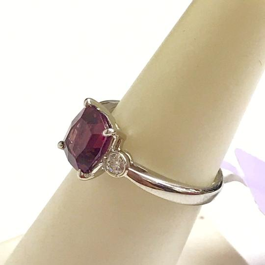 Other GORGEOUS VINTAGE!!!! Platinum Diamond and Pink Tourmaline Ring Platinum Diamonds weighing 0.10 carats total weight Pink Tourmaline weighing 2.21 carats total weight 4.7 Grams Size: 5.75 BEAUTIFUL!!! Comes with Box!!! Image 3