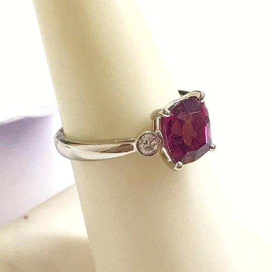 Other GORGEOUS VINTAGE!!!! Platinum Diamond and Pink Tourmaline Ring Platinum Diamonds weighing 0.10 carats total weight Pink Tourmaline weighing 2.21 carats total weight 4.7 Grams Size: 5.75 BEAUTIFUL!!! Comes with Box!!! Image 4