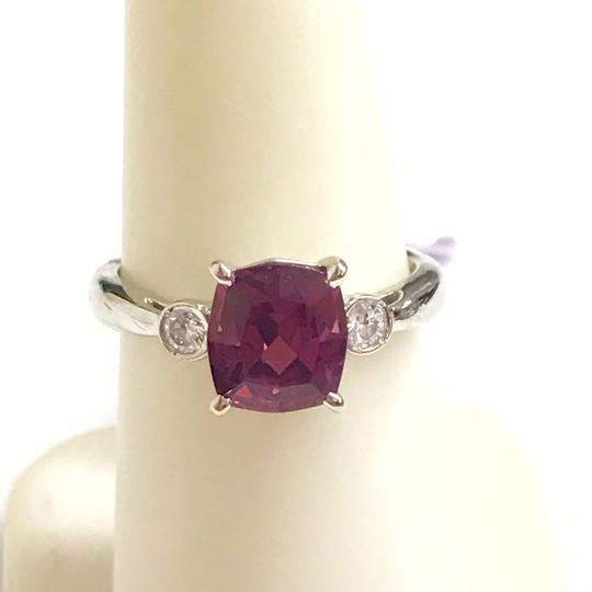 Other GORGEOUS VINTAGE!!!! Platinum Diamond and Pink Tourmaline Ring Platinum Diamonds weighing 0.10 carats total weight Pink Tourmaline weighing 2.21 carats total weight 4.7 Grams Size: 5.75 BEAUTIFUL!!! Comes with Box!!! Image 5