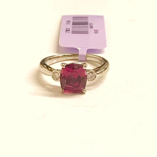 Other GORGEOUS VINTAGE!!!! Platinum Diamond and Pink Tourmaline Ring Platinum Diamonds weighing 0.10 carats total weight Pink Tourmaline weighing 2.21 carats total weight 4.7 Grams Size: 5.75 BEAUTIFUL!!! Comes with Box!!! Image 8