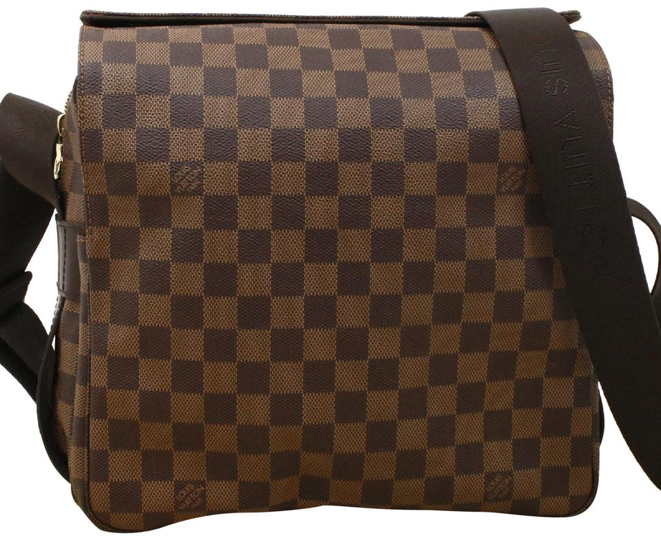 3f68cc459a78 Louis Vuitton Naviglio Crossbody  Brown Damier Canvas Shoulder Bag ...
