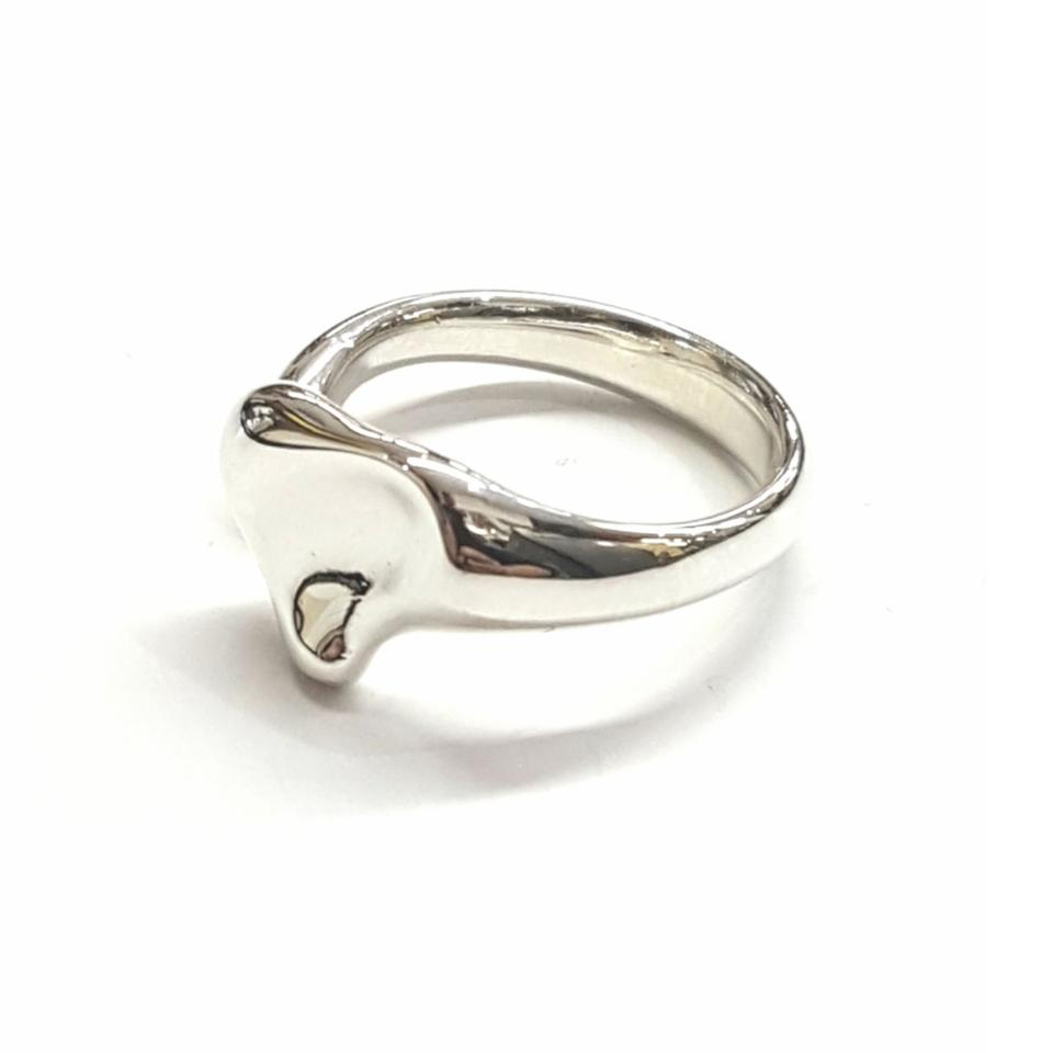 ee0e0240f Tiffany & Co. Tiffany & Co. Sterling Silver Elsa Peretti Full Heart Ring  Image ...