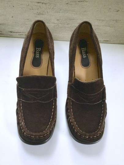 Bass Loafers Career Casual Brown Wedges Image 1