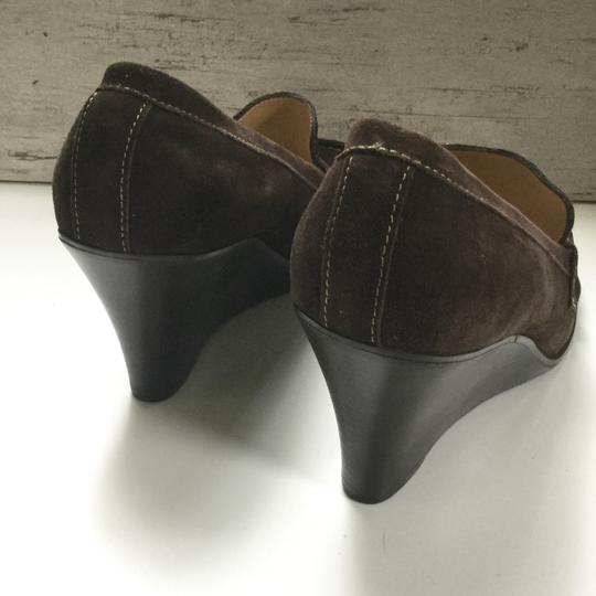 Bass Loafers Career Casual Brown Wedges Image 4