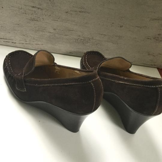 Bass Loafers Career Casual Brown Wedges Image 5