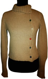 Marni Cardigan Turtleneck Wool Mohair Sweater