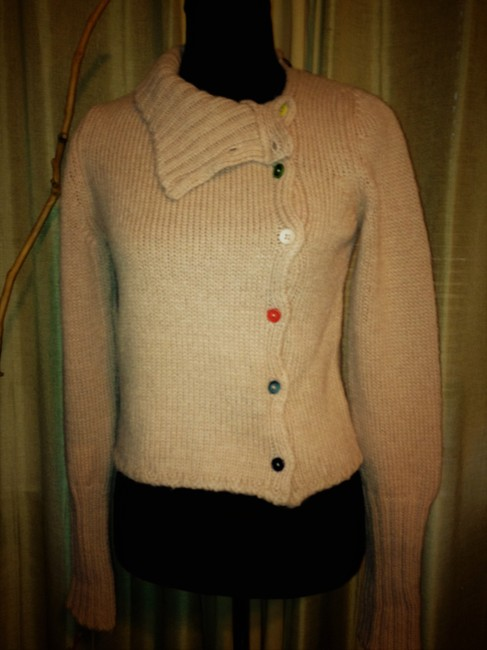 Marni Cardigan Turtleneck Wool Mohair Sweater Image 1