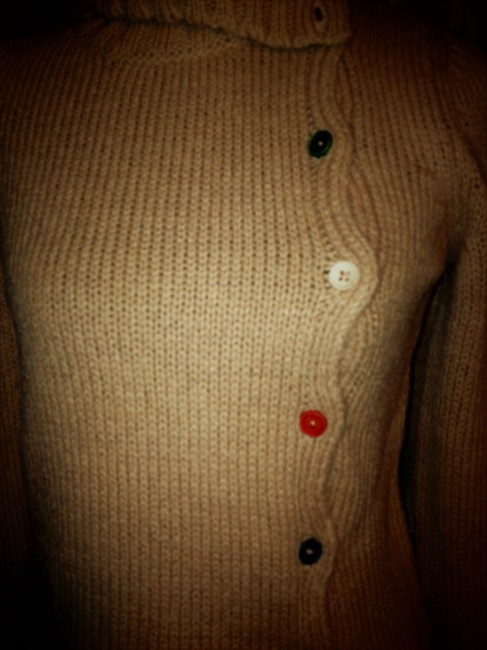Marni Cardigan Turtleneck Wool Mohair Sweater Image 3