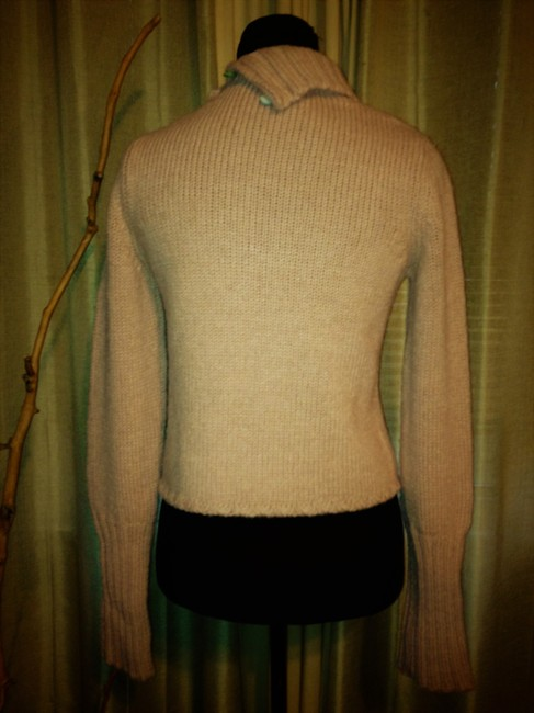 Marni Cardigan Turtleneck Wool Mohair Sweater Image 4