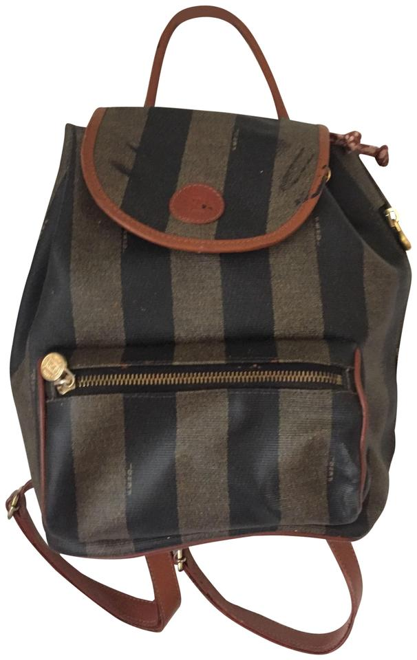 Fendi Vintage Signature Stripe Backpack - Tradesy 071e3ecd1a66f