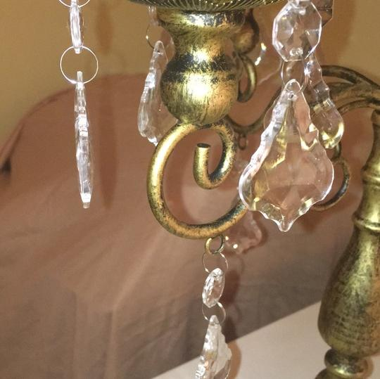 Michaels Gold Pair Of Candelabras Votive/Candle