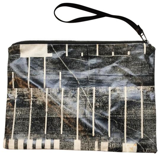 Lee Coren black and white Clutch Image 0