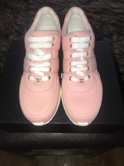 Chanel Pink Salmon Athletic Image 1