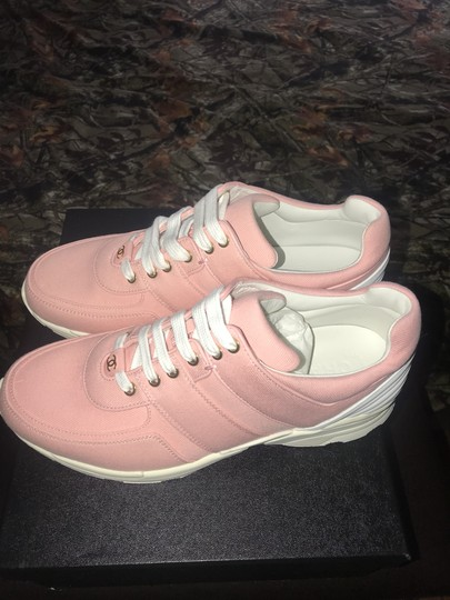 Chanel Pink Salmon Athletic Image 2