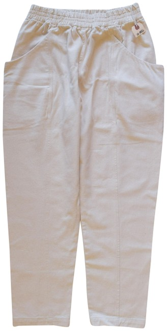 Elizabeth Suzann Clyde Clyde Work Made In Nashville Relaxed Pants Beige Image 0