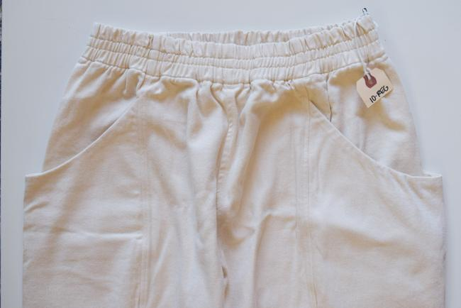 Elizabeth Suzann Clyde Clyde Work Made In Nashville Relaxed Pants Beige Image 2