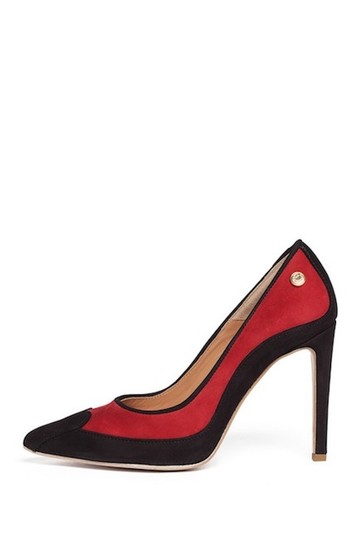 Love Moschino Red/Black Pumps Image 3
