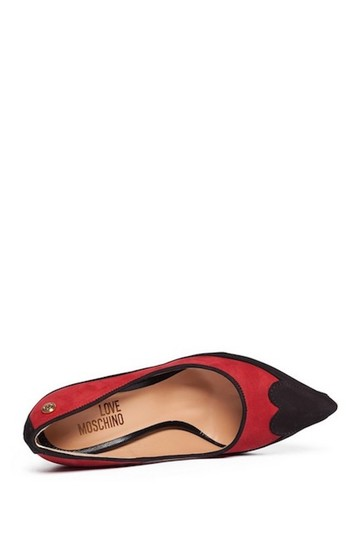 Love Moschino Red/Black Pumps Image 6