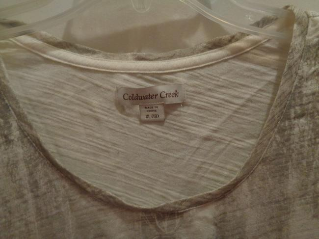 Coldwater Creek T Shirt white/gray Image 2