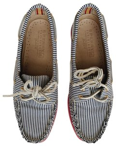 Sperry White, Blue, Pink Athletic