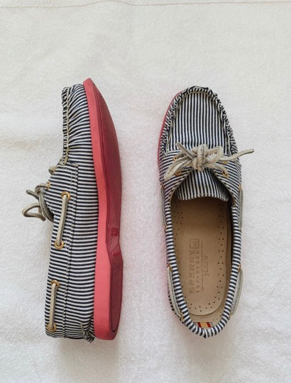 Sperry White, Blue, Pink Athletic Image 2