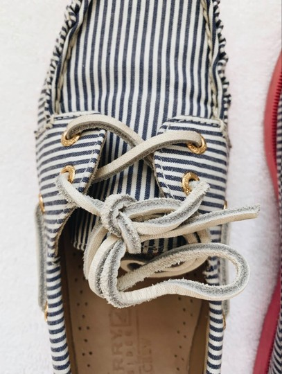 Sperry White, Blue, Pink Athletic Image 3