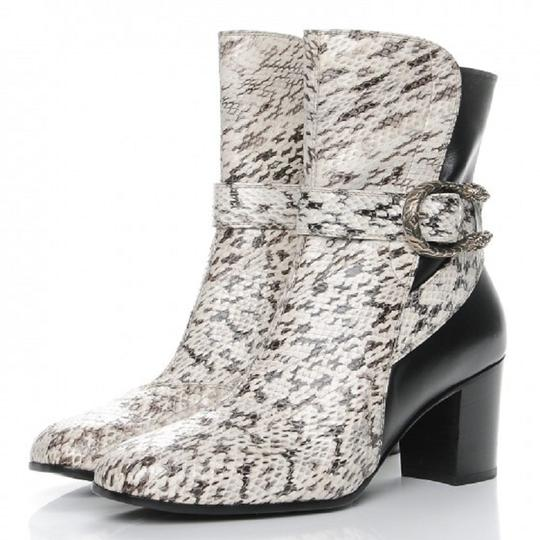 Gucci Web black and white Boots Image 6