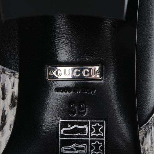 Gucci Web black and white Boots Image 7