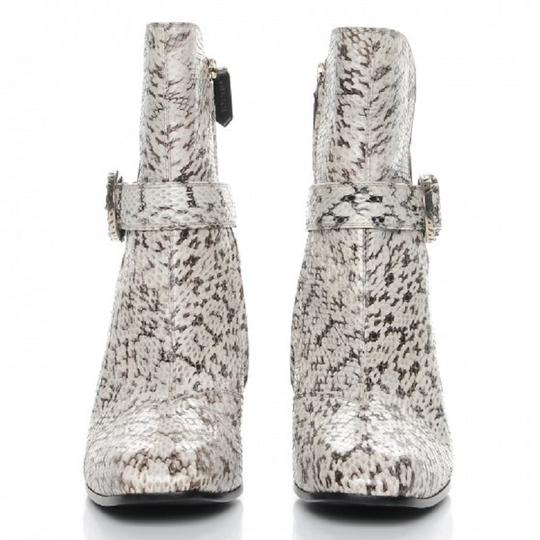 Gucci Web black and white Boots Image 9