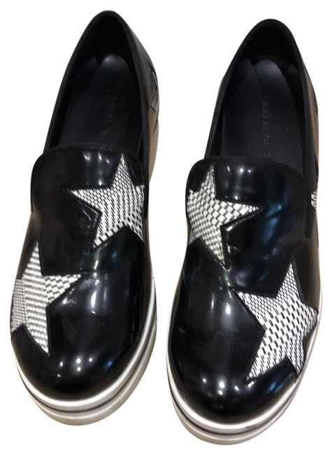 Item - Black Slip-on Platform Sneakers Flats Size US 9 Regular (M, B)