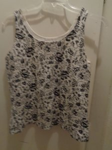 French Laundry Top White/Black