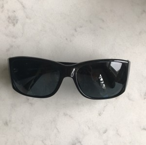 Chanel Chanel 5083-h Pearl CC Logo Black Sunglasses