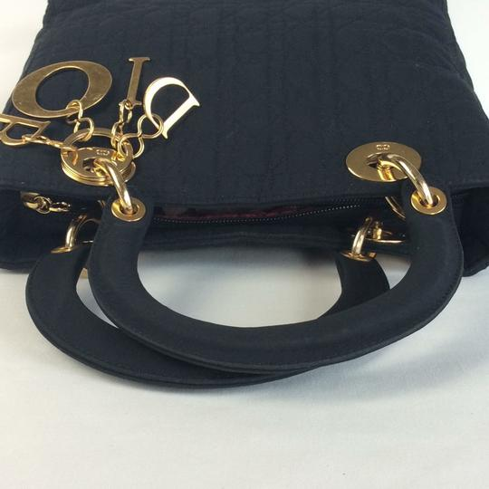 Dior Satchel in black Image 7