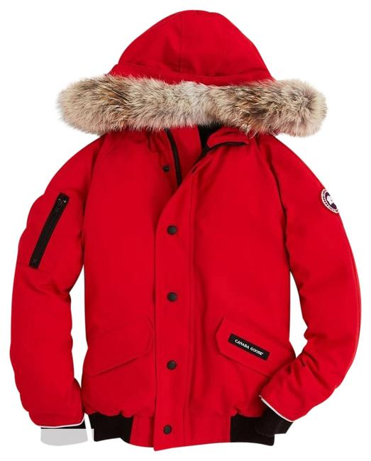 Item - Red Rundle Bomber Boys Medium 10-12 Coat Size 10 (M)